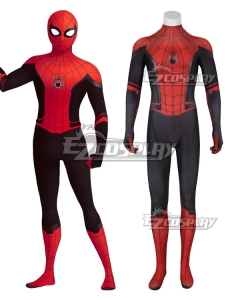 Marvel 2019 Movie Spiderman Spider-Man: Far From Home Peter Parker Cosplay Costume