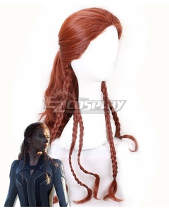 Marvel 2020 Black Widow Natasha Romanoff Brown Cosplay Wig