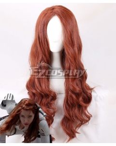 Marvel 2020 Movie Black Widow Black Widow Natasha Romanoff Brown Cosplay Wig