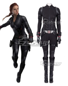 Marvel Avengers 4: Endgame Avengers Black Widow Natasha Romanoff Halloween Cosplay Costume