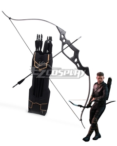 Marvel Avengers 4: Endgame Hawkeye Clinton Francis Barton Bow Cosplay Weapon Prop