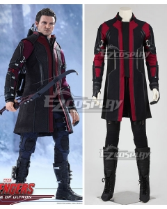 Marvel Avengers Age of Ultron Hawkeye Clinton Francis Barton Cosplay Costume