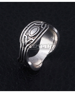 Marvel Black Panther 2018 Movie T'Challa Black Panther Ring Cosplay Accessory Prop