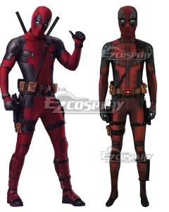 Marvel Deadpool 2 Wade Wilson Cosplay Costume