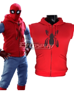 Marvel Spiderman Spider-Man:Homecoming Spider-man Spider Man Superhero Peter Parker Cosplay Costume Only Vest