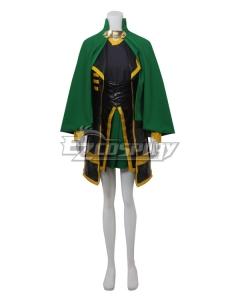 Marvel The Avengers The Dark World Loki Female Version Cosplay Costume