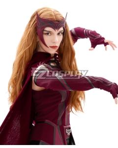 Marvel Wanda Vision Wanda Maximoff Withch Brown Cosplay Wig