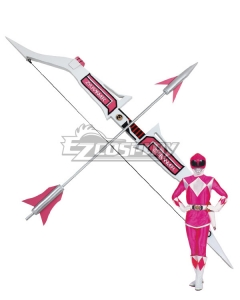 Mighty Morphin Power Rangers Pink Ranger Arrow Bow Cosplay Weapon Prop