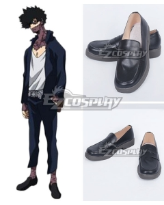 My Hero Academia Boku No Hero Akademia Dabi Black Cosplay Shoes