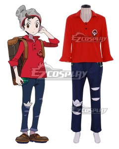 Pokemon Pokémon Sword and Pokémon Shield Male Trainer Cosplay Costume