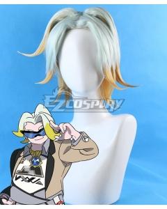Pokemon Pokémon Sword And Shield Gordie White Yellow Cosplay Wig