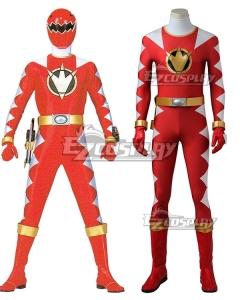 Power Rangers Dino Thunder Red Dino Ranger Conner McKnight Cosplay Costume