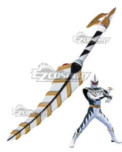 Power Rangers Dino Thunder White Dino Ranger Knife Cosplay Weapon Prop