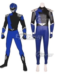 Power Rangers HyperForce HyperForce Blue Cosplay Costume