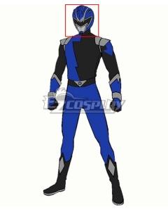 Power Rangers HyperForce HyperForce Blue Helmet Cosplay Accessory Prop