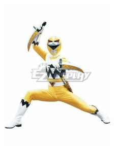 Power Rangers Lost Galaxy Galaxy Yellow Cosplay Costume