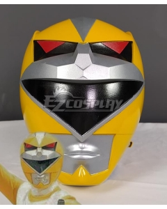 Power Rangers Lost Galaxy Galaxy Yellow Helmet Cosplay Accessory Prop