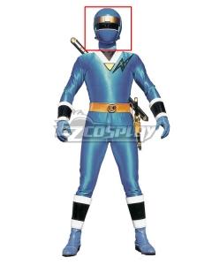 Power Rangers Ninja Sentai Kakuranger NinjaBlue Helmet Cosplay Accessory Prop
