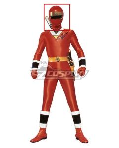 Power Rangers Ninja Sentai Kakuranger NinjaRed Helmet Cosplay Accessory Prop