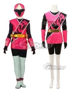 Power Rangers Ninja Steel Ninja Steel Pink Cosplay Costume