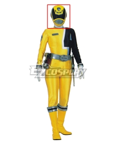 Power Rangers S.P.D. SPD Yellow Ranger Helmet Cosplay Accessory Prop