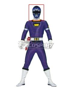Power Rangers Turbo Blue Turbo Ranger Helmet Cosplay Accessory Prop