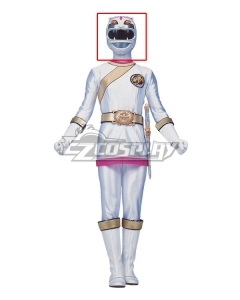 Power Rangers Wild Force White Wild Force Ranger Helmet Cosplay Accessory Prop