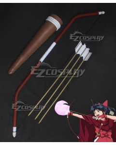 Inuyasha Yashahime : Princess Half-Demon Moroha Bow Cosplay Weapon Prop