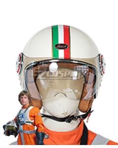 Star Wars Luke Skywalker X-Wing Pilot Fighter Helmet Cosplay Accessory Prop
