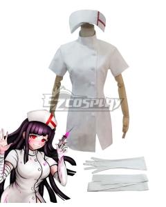 Super Danganronpa Dangan Ronpa 2 Mikan Tsumiki Cosplay Costume