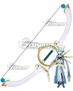 Sword Art Online Alicization War Of Underworld SAO Asada Shino Bow Cosplay Weapon Prop