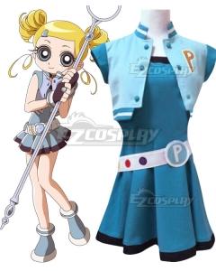 The Powerpuff Girls Z Bubbles Miyako Gotokuji Cosplay Costume