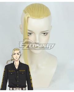 Tokyo Revengers Ken Ryuguji Golden Cosplay Wig