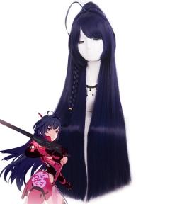 Honkai Impact 3 Raiden Mai Maye Blue Cosplay Wig