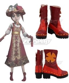 Identity V Gardener Emma Woods Spring Demon Red Cosplay Shoes