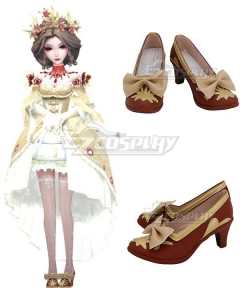 Identity V Bloody Queen Mary Bloodbath Red Cosplay Shoes