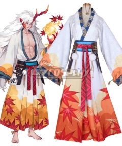Onmyoji Ibaraki Doji Maple Memories Cosplay Costume