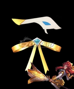 League Of Legends LOL Battle Academia Lux Prestige Edition Skin Headwear Cosplay Accessory Prop