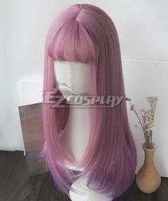 Japan Harajuku Lolita Series Pink Cosplay Wig - EWL191Y