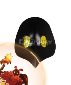 Genshin Impact Pyro Abyss Mages Mask Cosplay Accessory Prop
