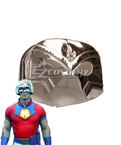 DC Suicide Squad 2 Peacemaker Headgear Mask  Cosplay Accessory Prop