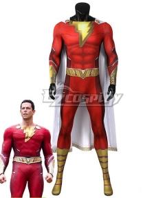 DC Shazam! Fury Of The Gods Billy Batson Jumpsuit Zentai Halloween Cosplay Costume