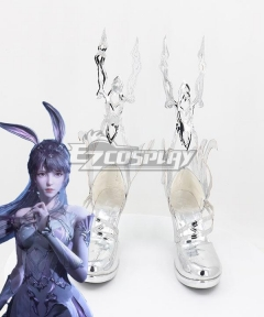 Douluo Dalu Soul Land After Five Years Xiao Wu Silver Shoes Cosplay Boots