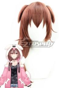 Hololive Virtual YouTuber Inugami Korone Brown Cosplay Wig B Edition