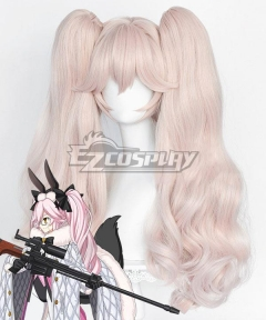 Fate Grand Order Koyanskaya of Light Light Pink Cosplay Wig