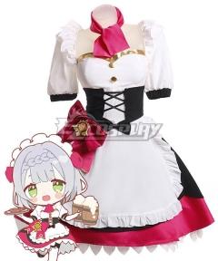 Genshin Impact Noelle Maid Cosplay Costume