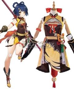 Genshin Impact Xiangling Cosplay Costume A Edition