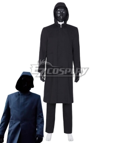 Squid Game The Front Man Black Suit Jacket Halloween Cosplay Costume