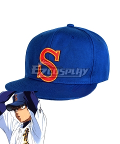 Ace of Diamond Dianmond no Ace Sawamura Eijun Hat Cosplay Accessory Prop