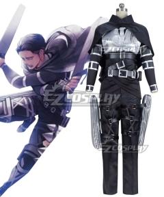 Attack On Titan Shingeki No Kyojin Final Season Levi Ackerman Cosplay Costume